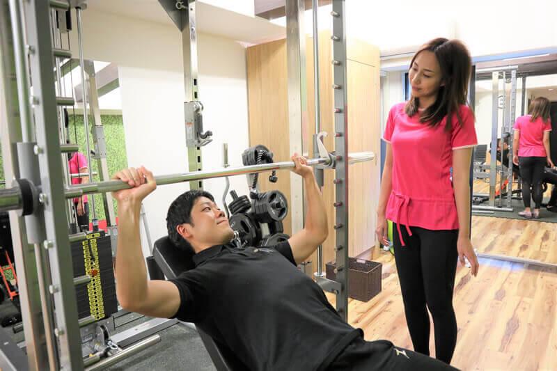 fis.トレーナーによるトレーニング指導