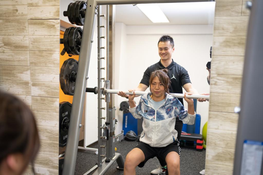 fis大阪のトレーニング