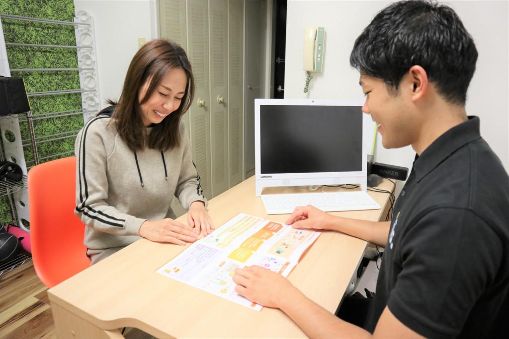 fis大阪の食事指導風景